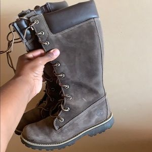 Timberland Tall Boot Girls Size 1.5
